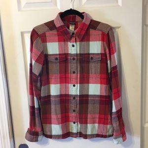Patagonia women's flannel shirt